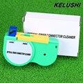 Conector De Fibra Óptica Cleaner KELUSHI con Un Solo Clic De Limpieza Óptica SC ST FC Carrete de Cable Y Conector Casquillo de Inspección herramienta
