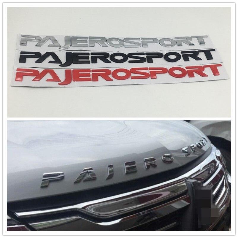 530 43mm Front Hood Logo Emblem Badge Nameplate For Mitsubishi Pajero Montero Sport Suv Pajerosport