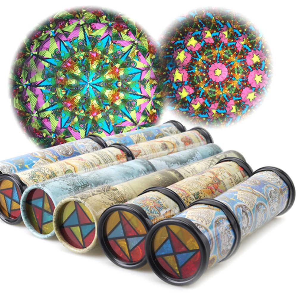 Nova 30 cm Marca Caleidoscópio Colorido Brinquedo Educacional Para Crianças Presentes de Aniversário Das Crianças Dos Miúdos 30 CMHot Venda
