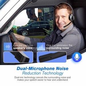 Image 3 - Mpow HC3 Bluetooth 5.0 casque double bruit suppression Microphone clair sans fil et filaire casque pour ordinateur portable Center dappels téléphones
