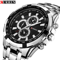 Watch Men Relogio Masculino Curren Creative Watches Sport Clock Mens Watches Top Brand Luxury Military Army