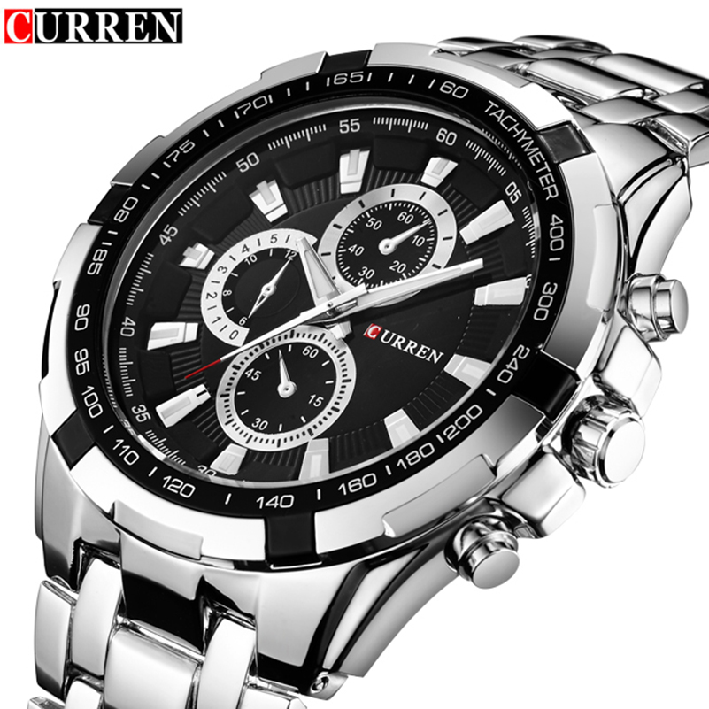 Watch Men Relogio Masculino Curren Creative Watches Sport Clock Mens Watches Top Brand Luxury Military Army Luxury Quartz Watch curren 8023 mens watches top brand luxury stainless steel quartz men watch military sport clock man wristwatch relogio masculino