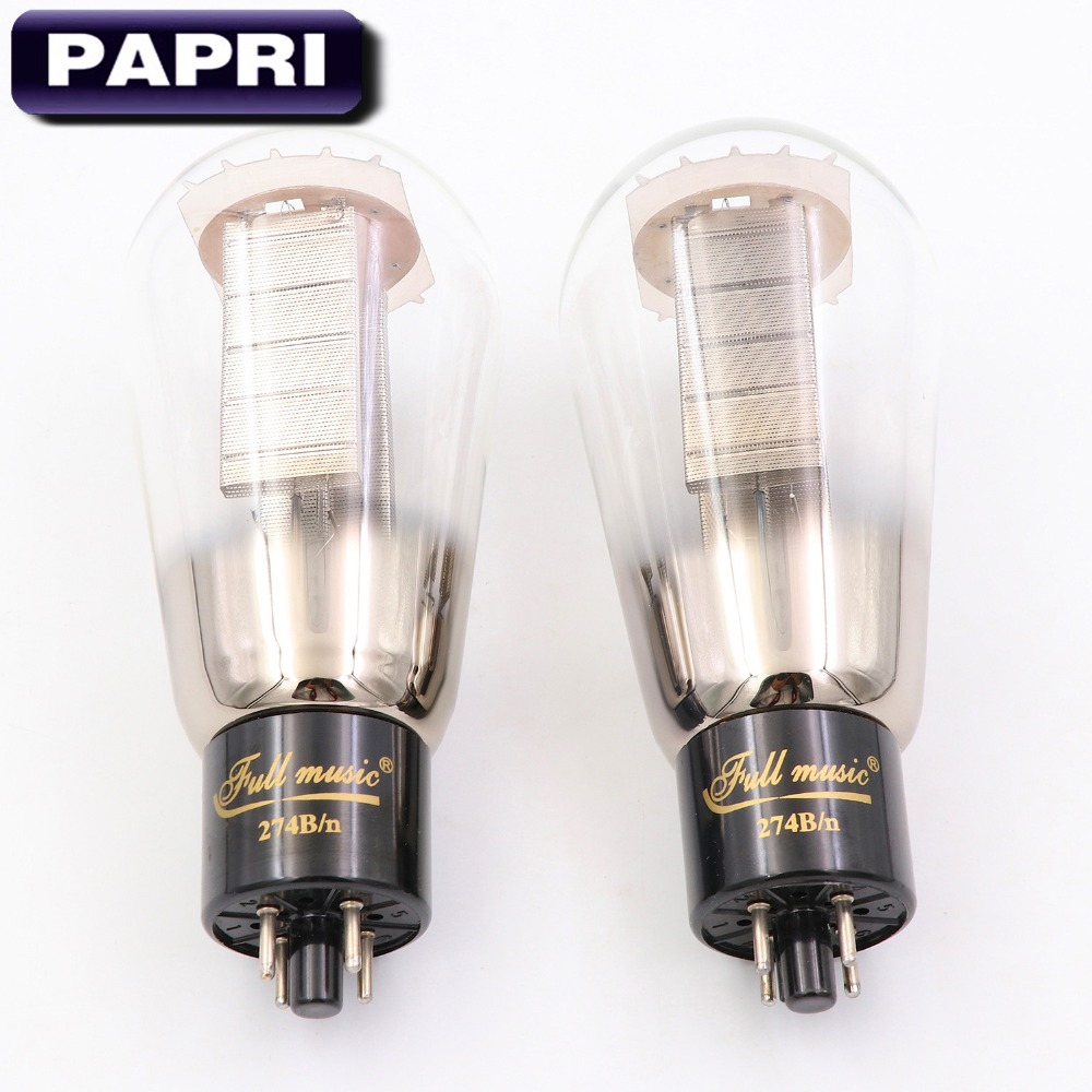 Matched Pair Fullmusic 6SN7 Vacuum Tubes Brand New