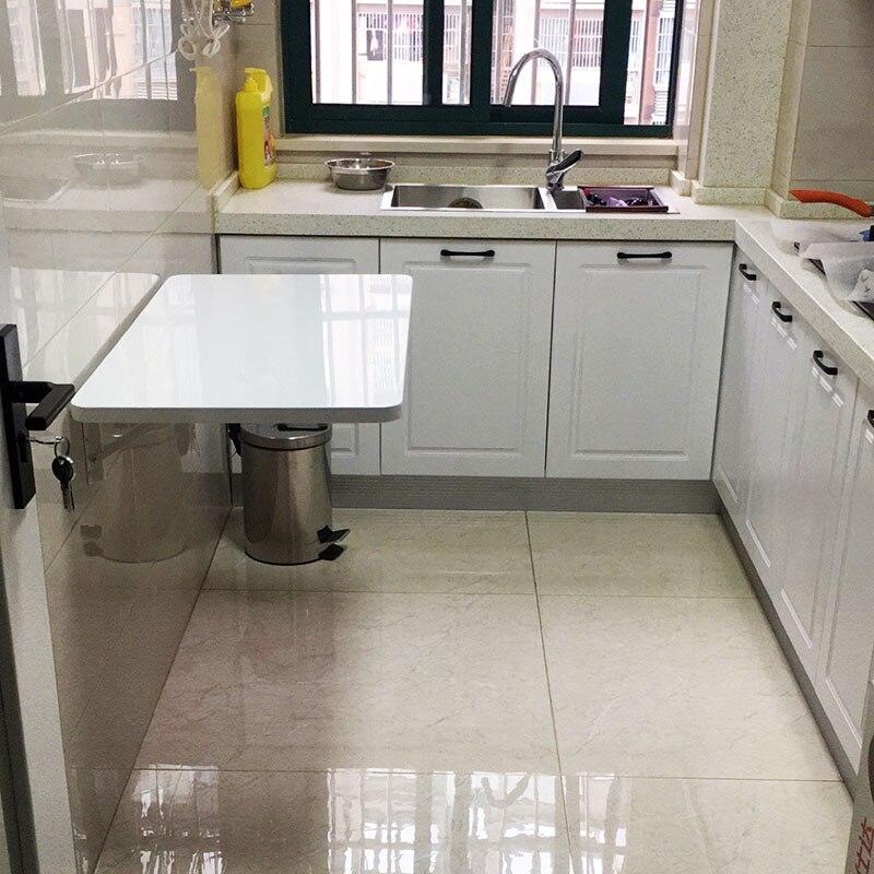 Tableau de peinture haute densité meubles de maison comptoir de cuisine table pliable table à manger Invisible tenture murale