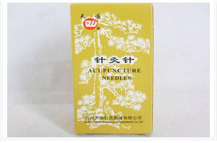 1000pcs reusable silver surface acupuncture needle Genuine tianxie acupuncture needles non disposable 200pcs box