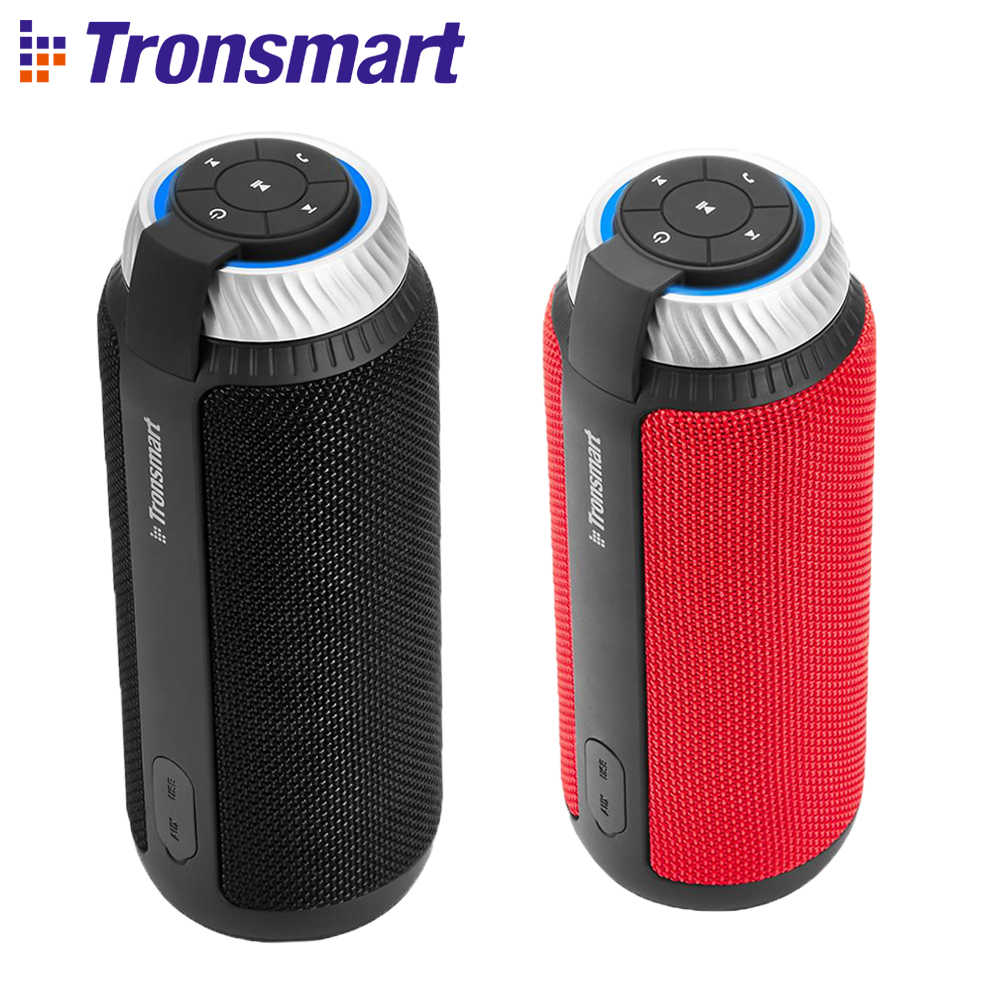 Tronsmart Elemen T6 Bluetooth Speaker Kolom 25 W DSP Portabel Soundbar Speaker untuk Musik MP3 Player Outdoor Mini Speaker