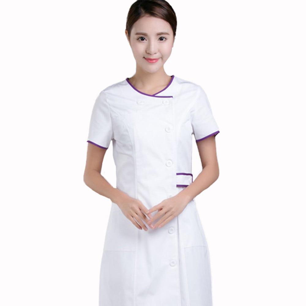 Online buy wholesale salon wear from china salon wear for Spa uniform cotton