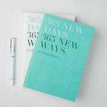 Notebook Planner 365 Dagen 2020 A5 Dagelijkse Tijd Memo Planning Organisator Agenda Vergadering School Office Schema Stationaire Gift