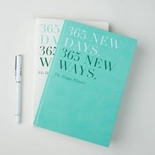 Notebook Planner 365 dni 2020 A5 codziennie czas Memo planowanie organizator Agenda spotkania szkolne biuro w harmonogramie, stacjonarne prezent