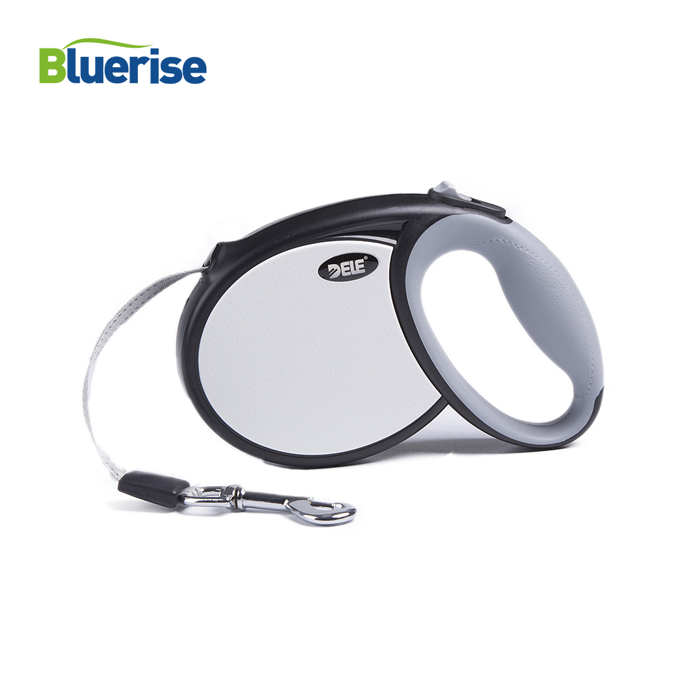 Bluerise High Quality Dogs Leash Automatic Retractable Pet Leash For Big Dogs Universal Remote Control With Super Flat Belt 5M-in Leashes from Home & Garden