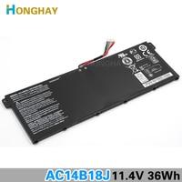 HONGHAY Original New AC14B18J Laptop Battery For Acer Aspire E3 111 E3 112 E3 112M ES1