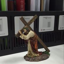 "Christian Gifts ""Crucifix Jesus Resin Statue"""
