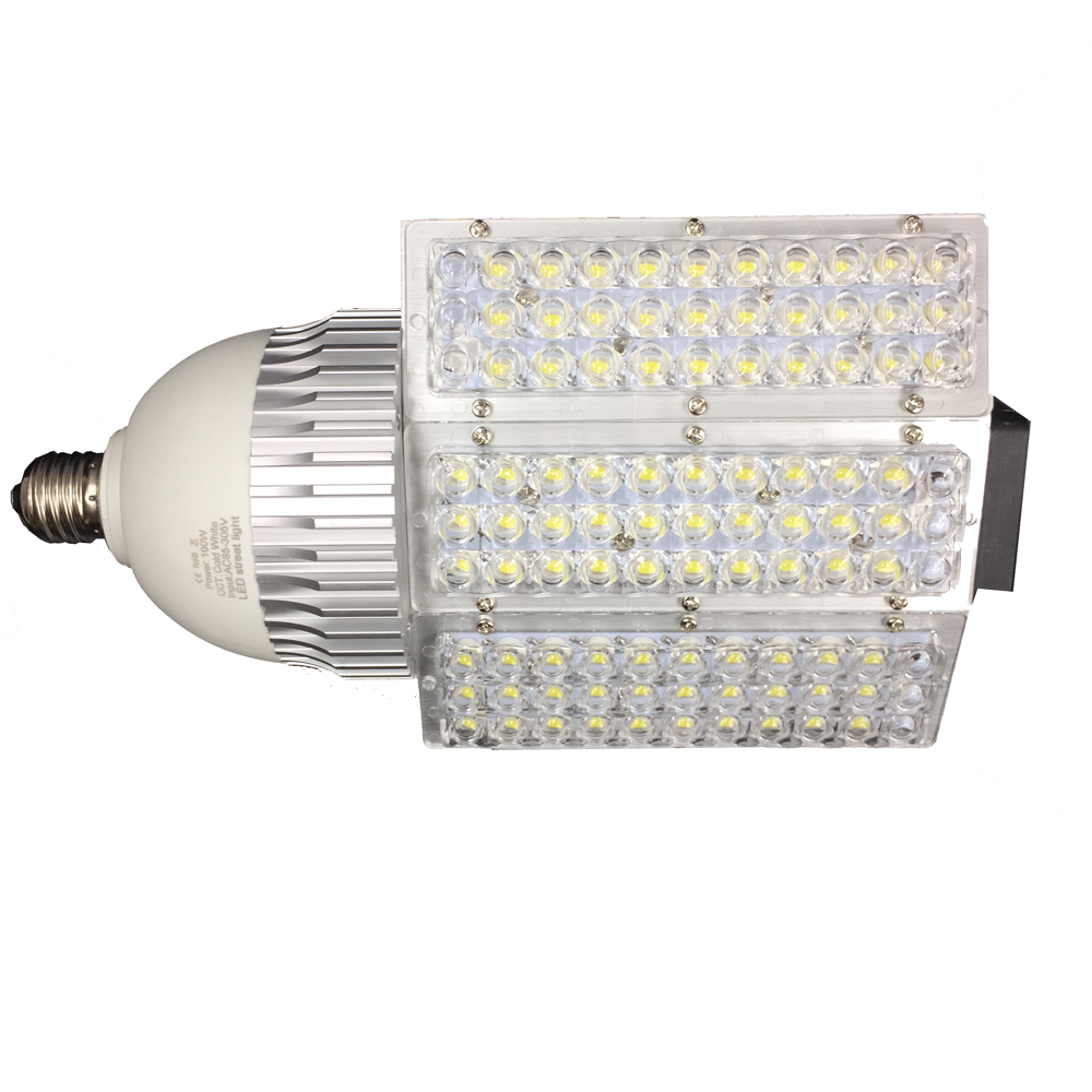 Medium Base E27 E26 E39 E40 Super Bright LED Street Lamp, Adjustable Light Bulb 30W 40W 60W 80W 100W Easy Install 20w 30w 40w 60w 75w e40 led commercial warehouse industrial light corn e27 e26 e39 e40 samsung 5630 leds lamp bulb tuv etl