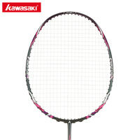 Kawasaki Badminton Rackets with String Professional Badminton Racquets for Beginners Firefox P520