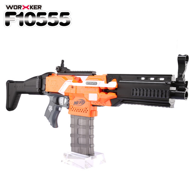 Muzzle For Your Nerf Long Shot Scar Barrel, Toys & Games, Bricks &  Figurines on Carousell