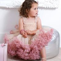 Платье Новый Дизайн Пышное Платье для девочек Демисезонный исходящих Высокое качество пачка супер-американки