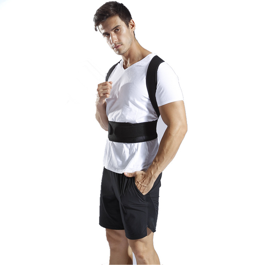 Brace Support Belt Adjustable Back Posture Corrector Clavicle Spine Back Shoulder Lumbar Posture Correction for Outdoor Fitness in Outdoor Fitness Equipment from Sports Entertainment