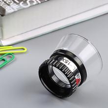 Przenośny Mini jubiler zegarek szkło powiększające 15X monokularowy szkło powiększające lupa obiektyw oko lupa Len naprawa zestaw narzędzi tanie tanio Inpelanyu Styl noszenia N1197 Brak Z tworzywa sztucznego ABS and Acrylic