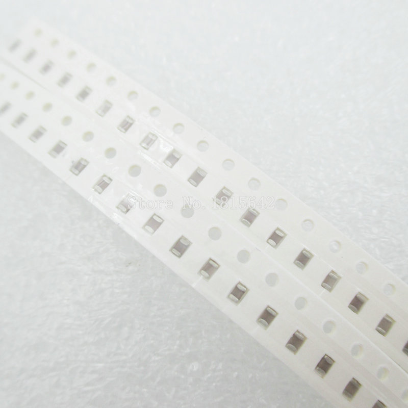 100PCS/LOT 100nf Error 10% 50V 104 100NF <font><b>0805</b></font> <font><b>SMD</b></font> Thick Film Chip Multilayer Ceramic <font><b>Capacitor</b></font> image