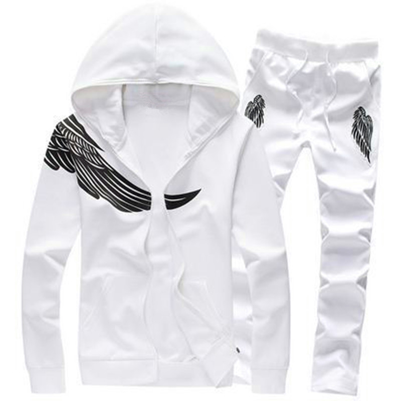 Brand-Clothing Menswear Fashion Tracksuit Casual SportSuit Ms