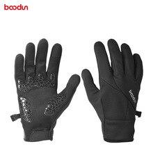 цена на Unisex Winter Cycling Gloves Full Finger Touch GEL Pad Men Women Sport Bike Gloves Waterproof  Windproof Warm MTB Bicycle Gloves