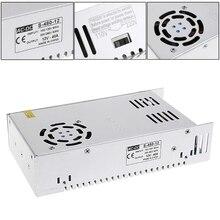 AC 100-260V To DC 12V 40A Switch Power Supply Driver Adapter LED Strip Light платье la redoute расклешенное короткое с длинными рукавами 46 fr 52 rus синий