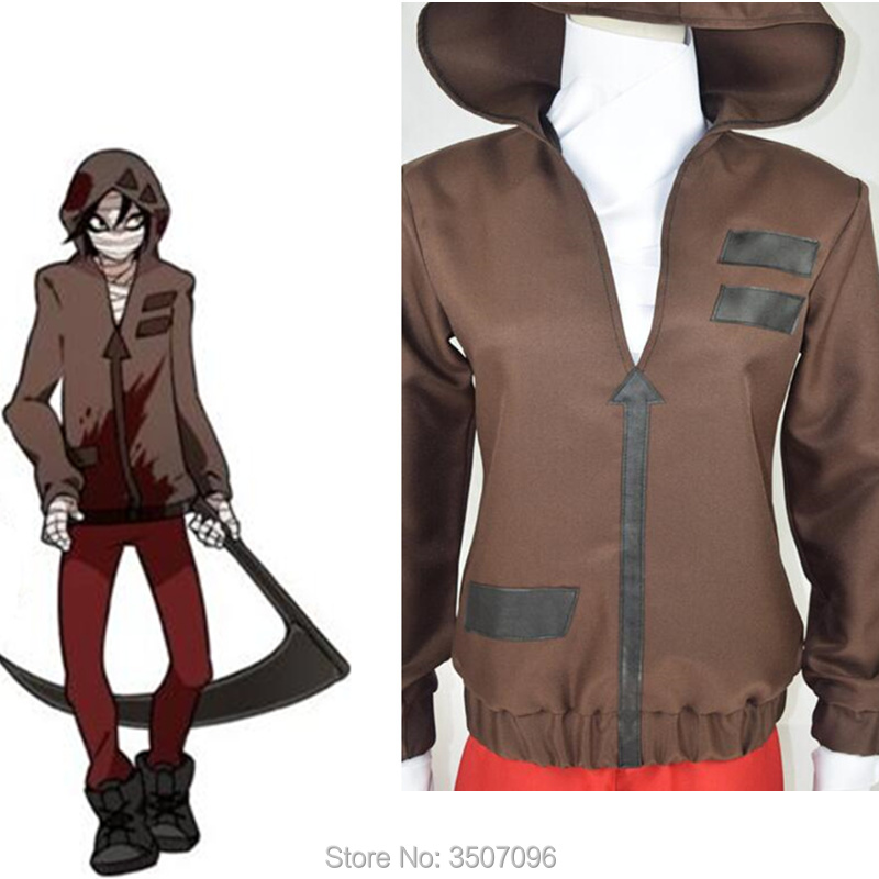 Anime Game Angels of Death Cosplay Isaac Foster Zack Halloween Cosplay Man Woman Cosplay Costume Outfit Set Hoodie