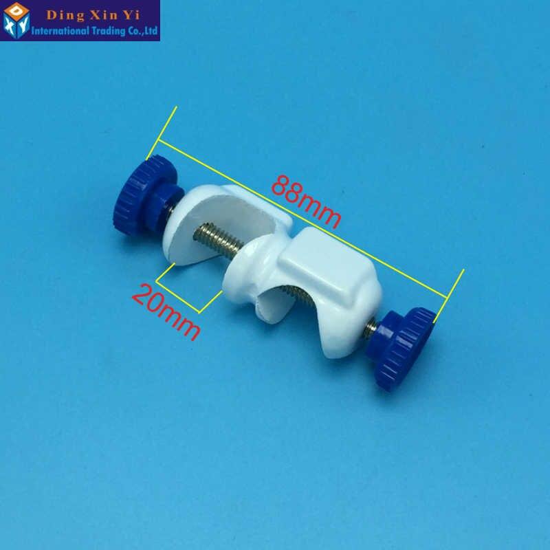 2 pcs Britânico braçadeira Ângulo direito Ângulo Direito clip braçadeira Laboratório Laboratório Cruz de Metal Aperto Suporta Braçadeira Laboratório tala angular