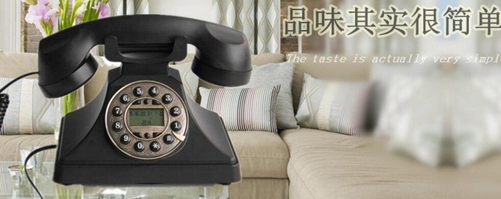 Ehrlich Amerikanischen Vintage Haushalt Büro Telefon Schwarz Telefon Wir Haben Lob Von Kunden Gewonnen