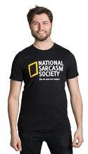 T Shirts Short Sleeve O-Neck National Sarcasm Society Regular Tee Shirt For Men