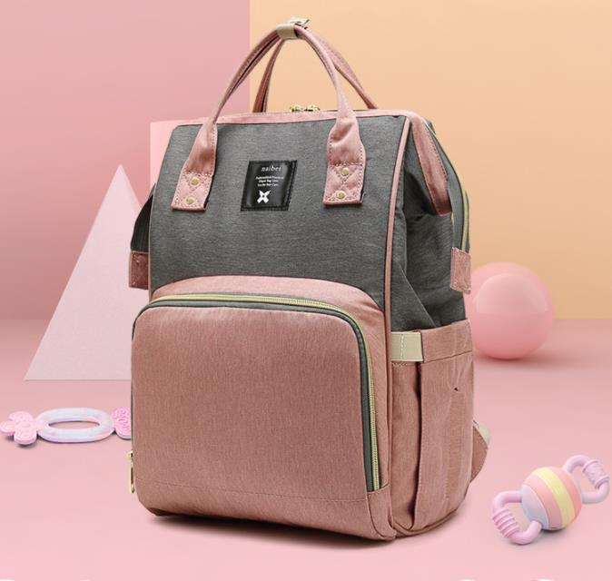 Promotion! Multifunctional Baby Bag For Mom Fashion Double Shoulder Diaper Bags Backpack Maternity Large Volume
