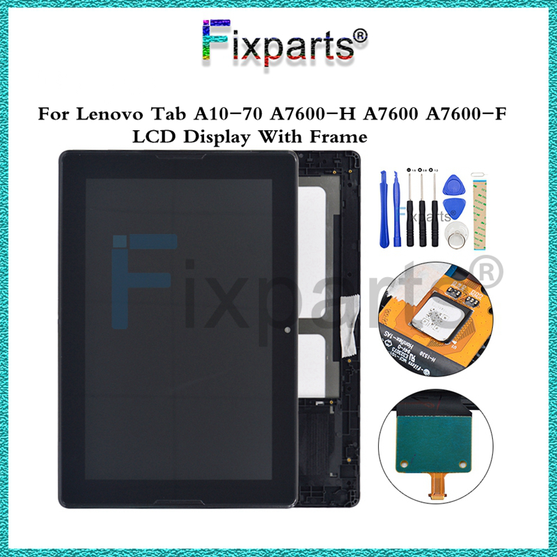 100% Tested For 10.1 Lenovo Tab A10-70 A7600-H A7600-F LCD DIsplay Touch Screen Digitizer Assembly With Frame For Lenovo A7600100% Tested For 10.1 Lenovo Tab A10-70 A7600-H A7600-F LCD DIsplay Touch Screen Digitizer Assembly With Frame For Lenovo A7600