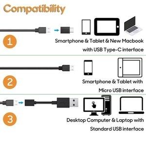 Image 3 - VicTsing 10m 7mm Endoscope Camera Wifi Android Type C USB Borescope HD 6 LED Snake Camera For Mac OS Windows Car Repair Tools