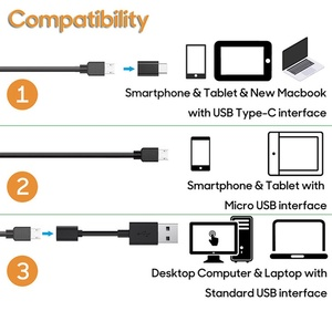 Image 3 - VicTsing 10m 7mm kamera endoskopowa Wifi Android type c USB boroskop HD 6 LED kamera węża dla Mac OS Windows narzędzia do naprawy samochodu