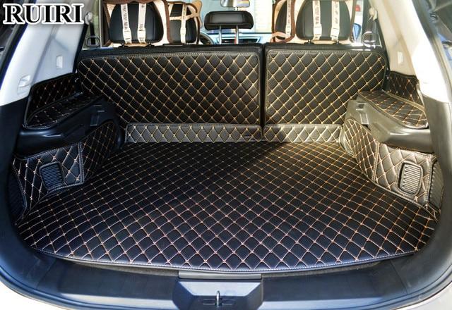 Special Car Trunk Mats For Nissan Rogue 5 Seats 2019 2017 Waterproof Cargo Liner Mat Boot Carpets