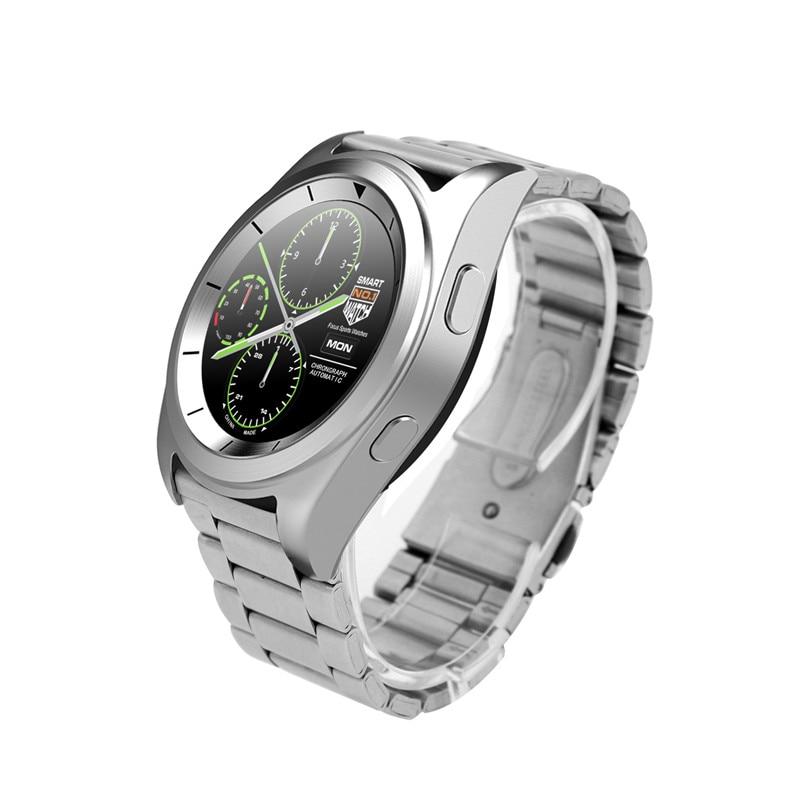 7c4551555 Moda deporte Bluetooth Smart Watch mujer hombre Wirswatch Smartwatch con  Monitor de ritmo cardíaco Mp3 Player para Android IOS teléfono celular en  Relojes ...