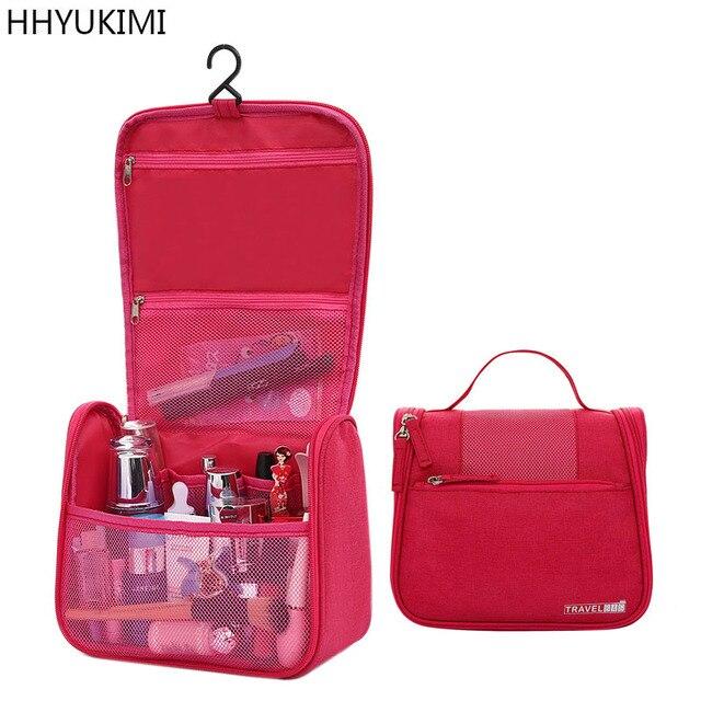 1f14469a0 Hhyukimi moda colgando bolsa de cosméticos para hombres mujeres portátil de  viaje esteticista maquillaje cosméticos organizador