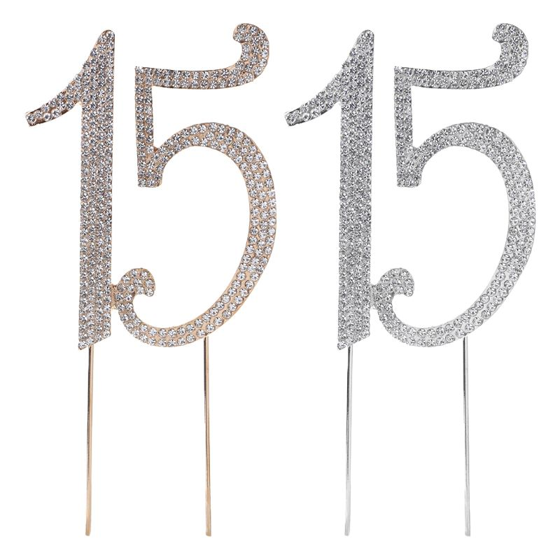 1st Wedding Anniversary Decoration Ideas At Home: 15 Cake Topper Birthday Party Decorations Kids Cake Topper