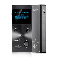 New XDUOO X3 Professional Lossless Hifi Audio MP3 Music Player With HD OLED Screen Support APE