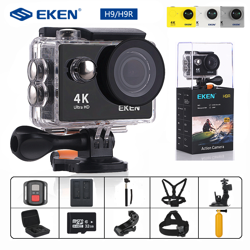 EKEN H9/H9R Action Camera Ultra HD 4K/25fps WiFi 2.0