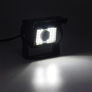 Image 2 - XCGaoon ユニバーサル車のリアビューカメラ 170 度防水 24 LED 夜ビジョン入力 DC 12 ボルト 24 ボルト、と互換性バス & トラック