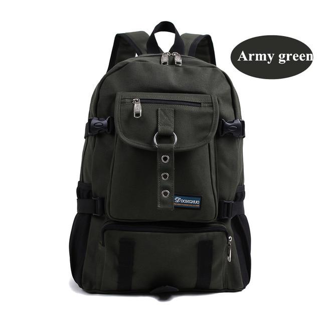 Di Convenienza army Da Tela Viaggio Per Green khaki Borse I Buona Arrampicata grey Grande Black Qualità Soldati Unisex Capacità Tattico All'aperto Zaino aarqp
