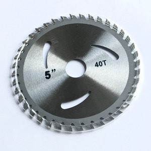 Image 2 - Free shipping 1PC decoration grade125*22/20*30/40Z TCT saw blade for wood/MDF/plastic cutting for home DIY decoration purpose