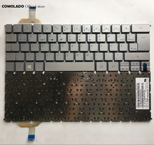 GR Germany Keyboard For Acer S7 S7-391 S7-392 MS2364 SILVER backlight  Layout