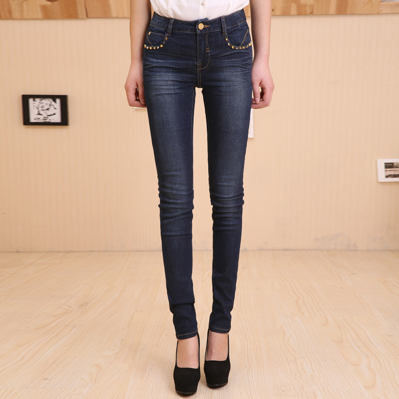 Hot Sale Skinny Jeans Woman spring New 2017 Pencil Jeans For Women Fashion Slim Blue Jeans Low Waist Women's  Denim Pants hot sale skinny jeans woman spring new pencil jeans for women fashion slim blue jeans mid waist women s denim pants trousers