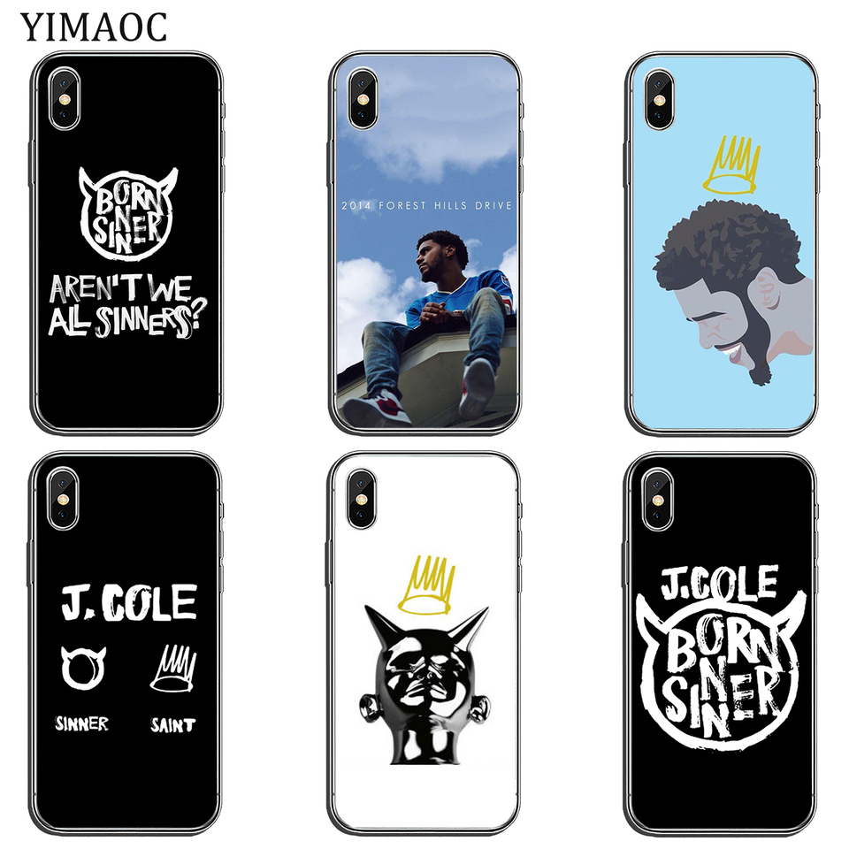 j cole sinner and saint 3 iphone case