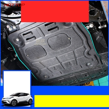 Car engine skid plate motor bottom panel mudguards protecting plate Fit For Toyota  CHR CH-R 2017 2018