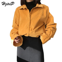 Women Blouses 2018 Spring Summer Fashion Loose Casual Stand Collar Shirt Puff Sleeve Women Tops Shirts Blusas Camisas Mujer