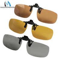 Gafas de sol con Clip polarizadas superligeras Maximumcatch, protección UV 400, bloqueo de brillo