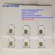 OYEITIMES 2G GSM SIM Card Blank SIM Card Mobile Phone SIM Card ICCID IMSI PIN PUK ADM KI COMP128 Algorith Without OP/OPC sim bank smb32 remote sim card controller manage 1 4 8 16 32 goip gsm voip gateway